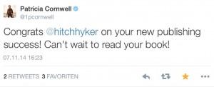 Patricia Cornwell tweet